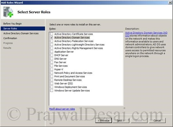 Deploying SCCM 2012 Part 1 Snap 2