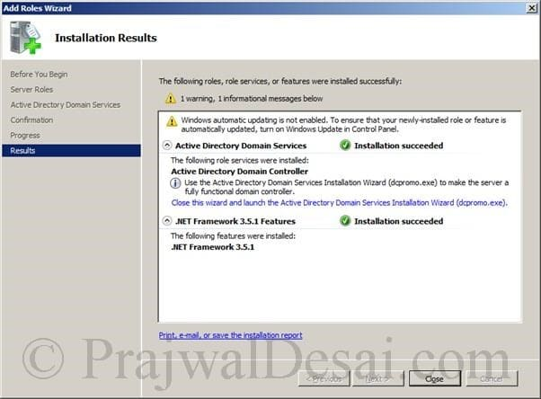 Deploying SCCM 2012 Part 1 Snap 6