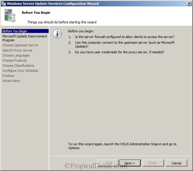 Deploying SCCM 2012 Part 5 – Installing WSUS Snap 8