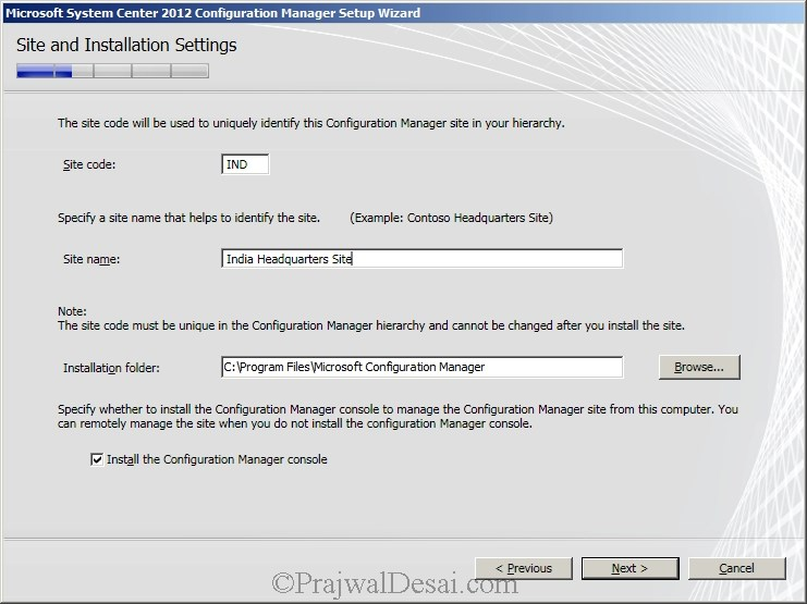 Deploying SCCM 2012 Part 6 – Installing SCCM 2012 Snap 10