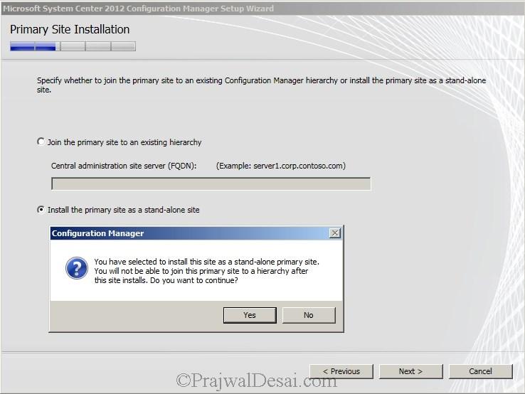 Deploying SCCM 2012 Part 6 – Installing SCCM 2012 Snap 12