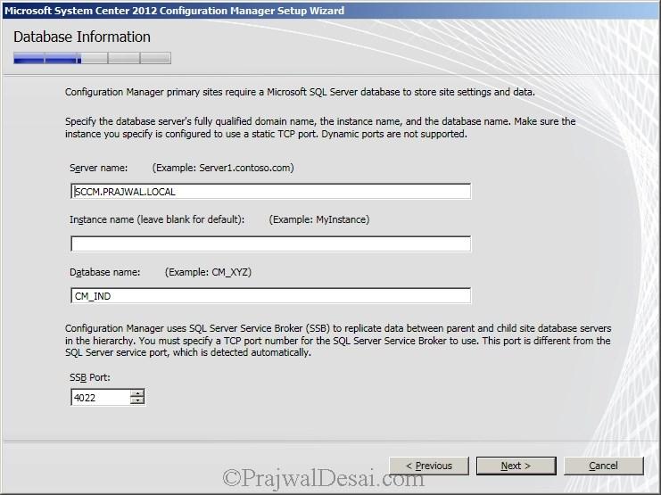 Deploying SCCM 2012 Part 6 – Installing SCCM 2012 Snap 13