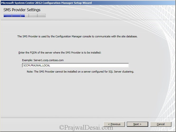 Deploying SCCM 2012 Part 6 – Installing SCCM 2012 Snap 14