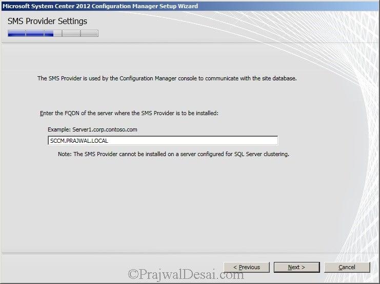 Deploying SCCM 2012 Part 6 – Installing SCCM 2012 Snap 14