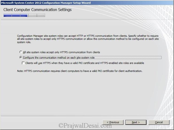 Deploying SCCM 2012 Part 6 – Installing SCCM 2012 Snap 15