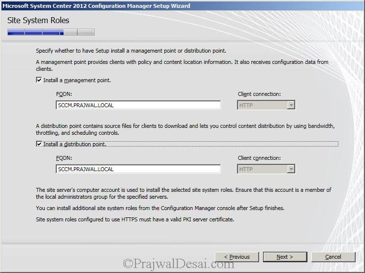 Deploying SCCM 2012 Part 6 – Installing SCCM 2012 Snap 16