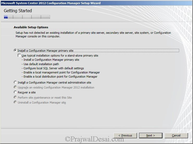 Deploying SCCM 2012 Part 6 – Installing SCCM 2012 Snap 3
