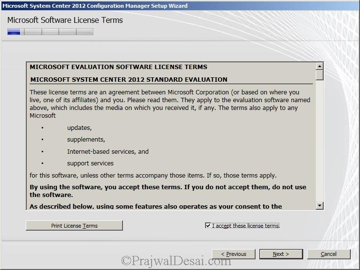 Deploying SCCM 2012 Part 6 – Installing SCCM 2012 Snap 5