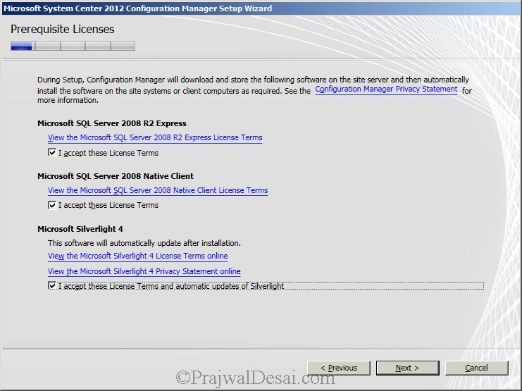 Deploying SCCM 2012 Part 6 – Installing SCCM 2012 Snap 6