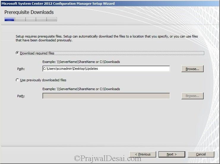 Deploying SCCM 2012 Part 6 – Installing SCCM 2012 Snap 7
