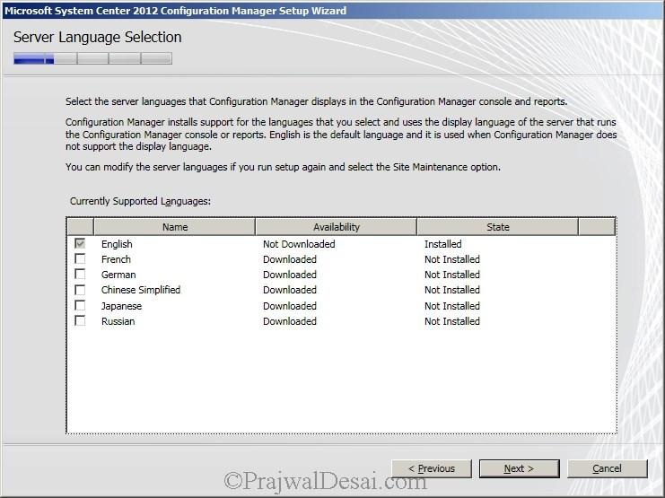 Deploying SCCM 2012 Part 6 – Installing SCCM 2012 Snap 8