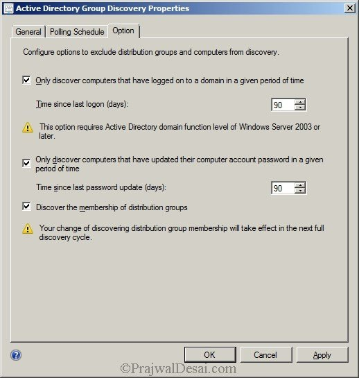 Deploying SCCM 2012 Part 7 – Configuring Discovery and Boundaries Snap 10