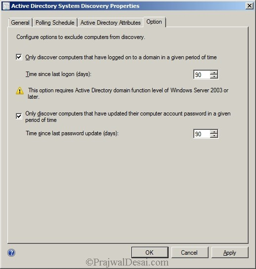Deploying SCCM 2012 Part 7 – Configuring Discovery and Boundaries Snap 15