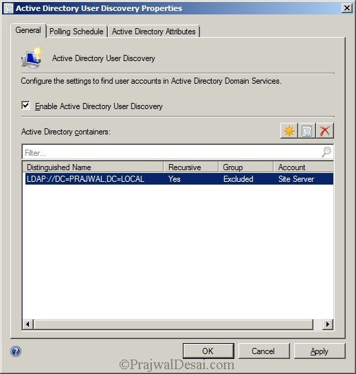 Deploying SCCM 2012 Part 7 – Configuring Discovery and Boundaries Snap 18