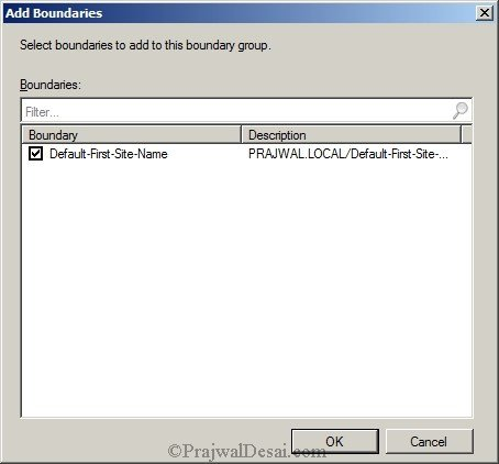 Deploying SCCM 2012 Part 7 – Configuring Discovery and Boundaries Snap 24