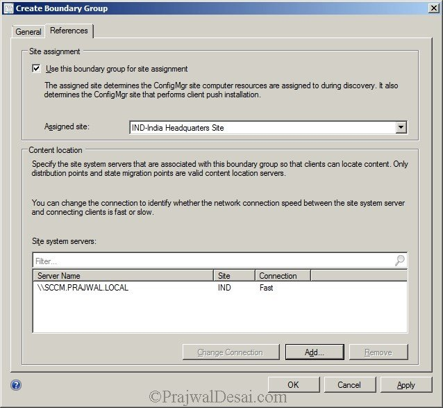 Deploying SCCM 2012 Part 7 – Configuring Discovery and Boundaries Snap 25