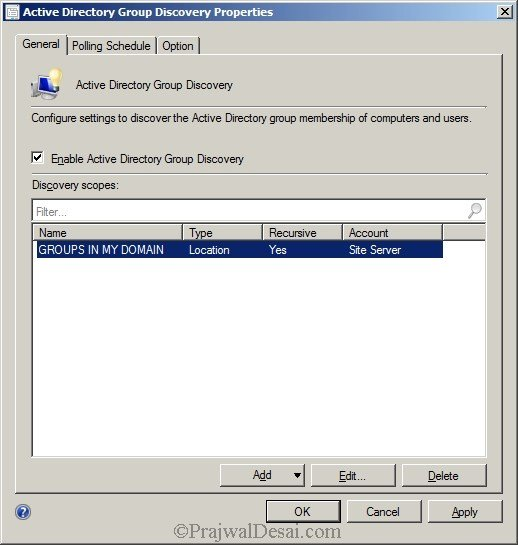 Deploying SCCM 2012 Part 7 – Configuring Discovery and Boundaries Snap 7