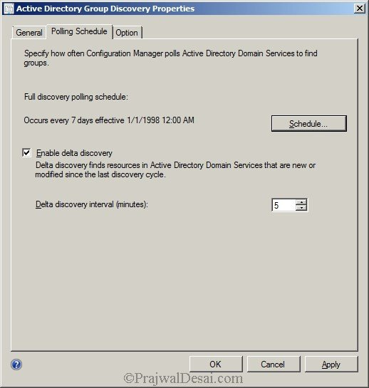 Deploying SCCM 2012 Part 7 – Configuring Discovery and Boundaries Snap 9