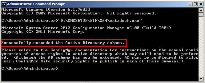 Extend Active Directory Schema