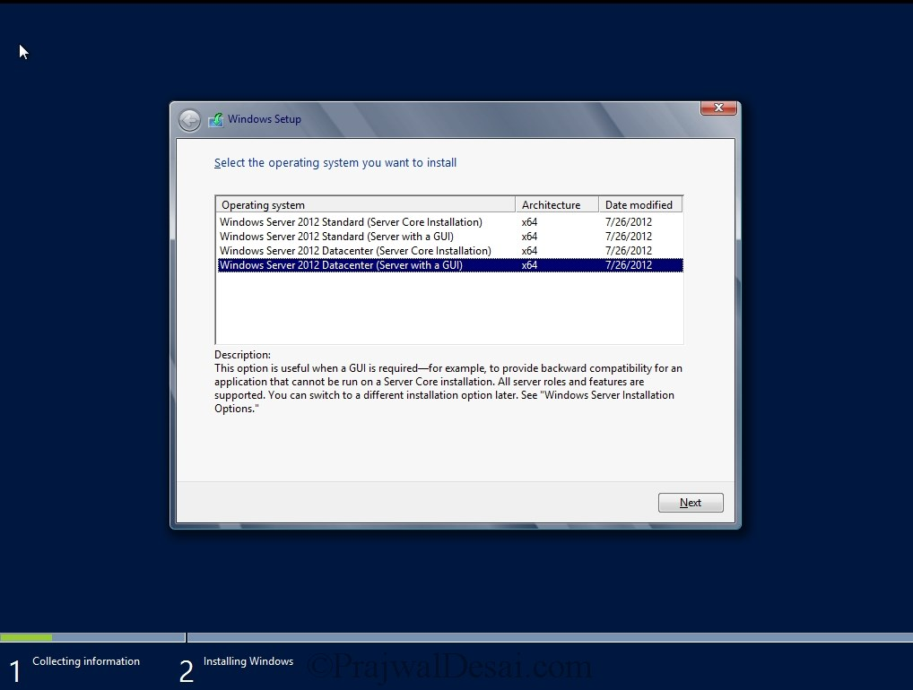 Installation of Lync Server 2013 Standard Edition Part 1 Snap 1
