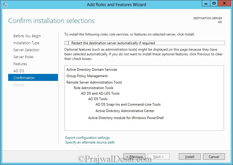 Installation of Lync Server 2013 Standard Edition Part 1 Snap 13