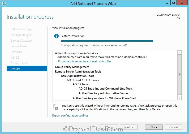 Installation of Lync Server 2013 Standard Edition Part 1 Snap 14