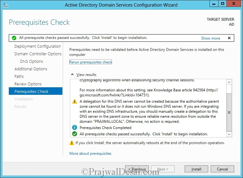 Installation of Lync Server 2013 Standard Edition Part 1 Snap 19