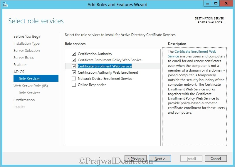 Installation of Lync Server 2013 Standard Edition Part 1 Snap 27