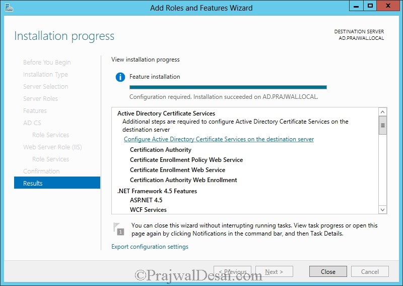 Installation of Lync Server 2013 Standard Edition Part 1 Snap 30