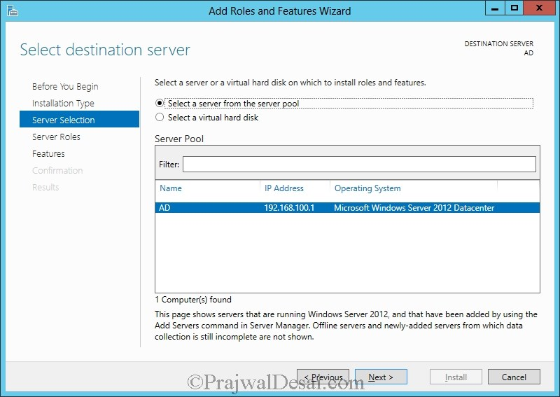 Installation of Lync Server 2013 Standard Edition Part 1 Snap 9