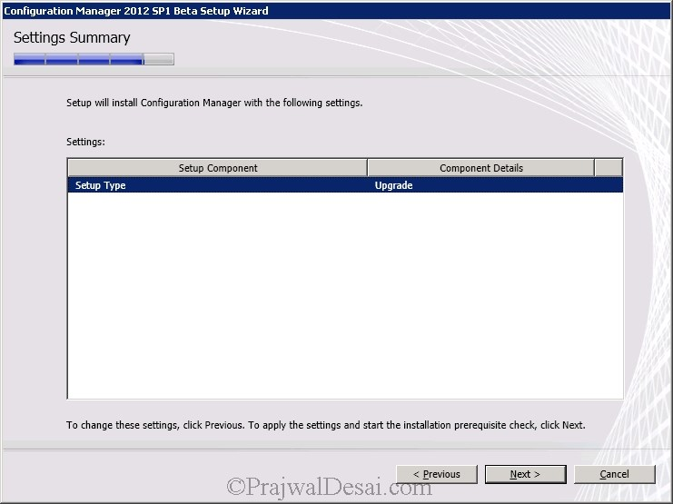 How to Upgrade SCCM 2012 RTM to SCCM 2012 SP1 Beta Snap 11