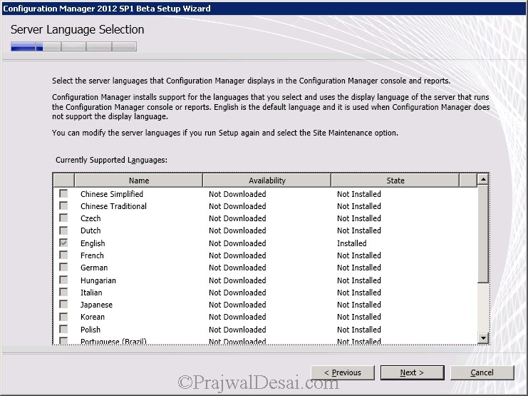 How to Upgrade SCCM 2012 RTM to SCCM 2012 SP1 Beta Snap 9