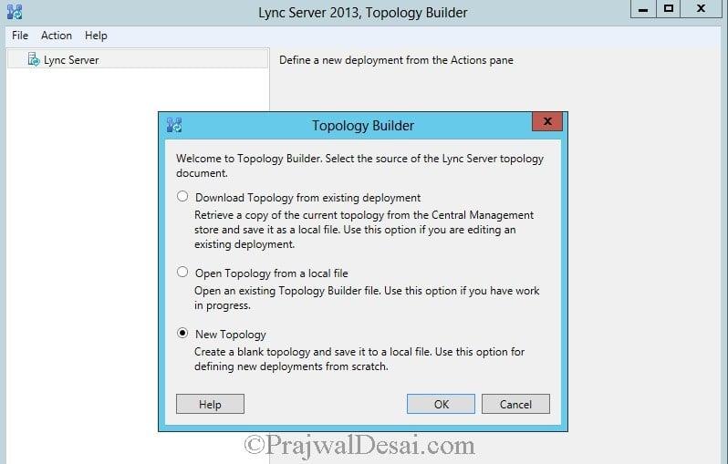 Installation Of Lync Server 2013 Standard Edition Part 3.1 Snap 1