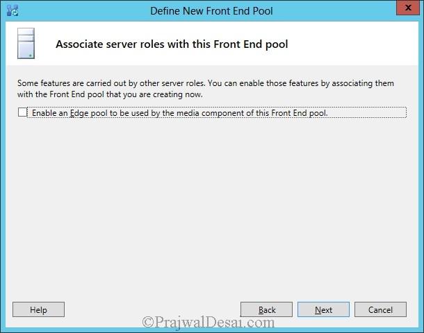 Installation Of Lync Server 2013 Standard Edition Part 3.1 Snap 12
