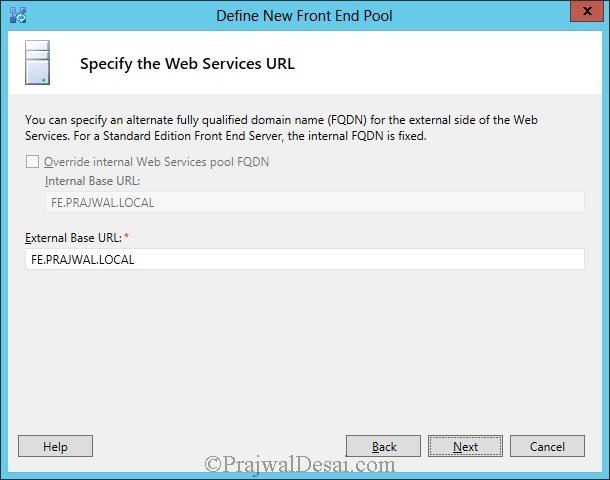 Installation Of Lync Server 2013 Standard Edition Part 3.1 Snap 15