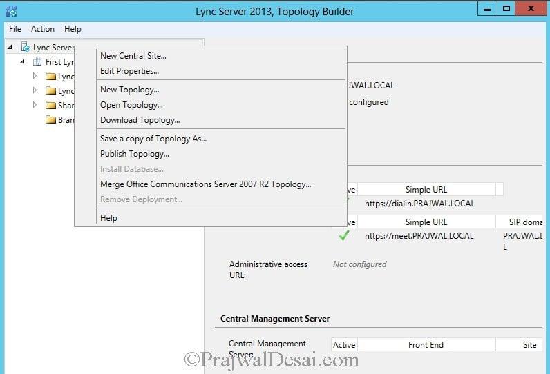 Installation Of Lync Server 2013 Standard Edition Part 3.1 Snap 17