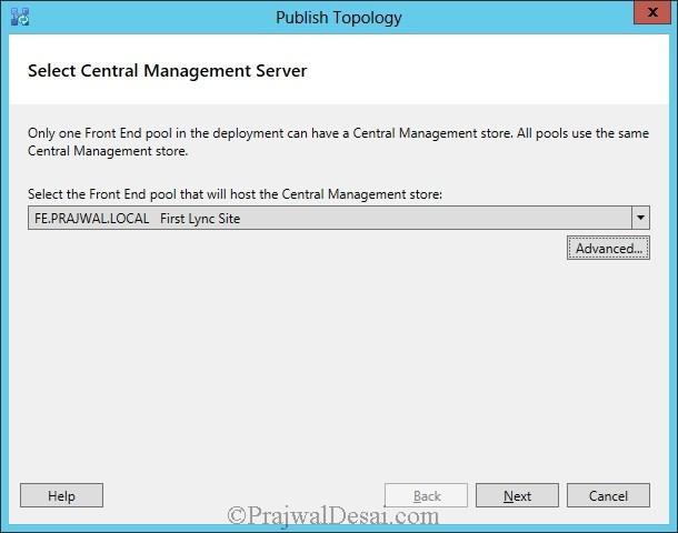 Installation Of Lync Server 2013 Standard Edition Part 3.1 Snap 21