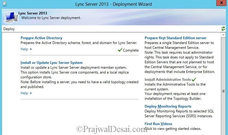 Installation Of Lync Server 2013 Standard Edition Part 3.1 Snap 23