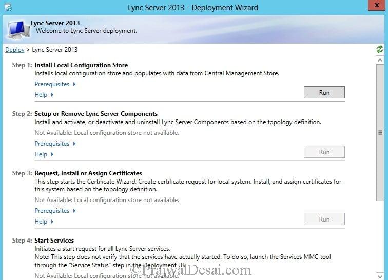 Installation Of Lync Server 2013 Standard Edition Part 3.1 Snap 24
