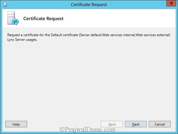 Installation Of Lync Server 2013 Standard Edition Part 3.1 Snap 30