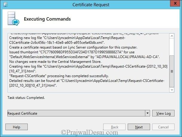 Installation Of Lync Server 2013 Standard Edition Part 3.1 Snap 41