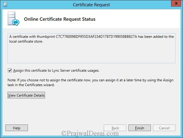 Installation Of Lync Server 2013 Standard Edition Part 3.1 Snap 42