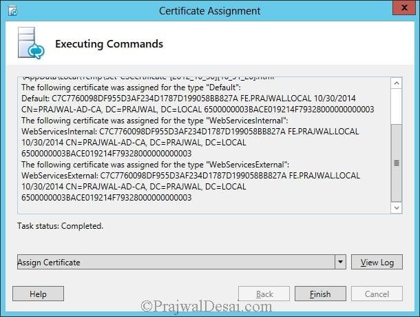 Installation Of Lync Server 2013 Standard Edition Part 3.1 Snap 45