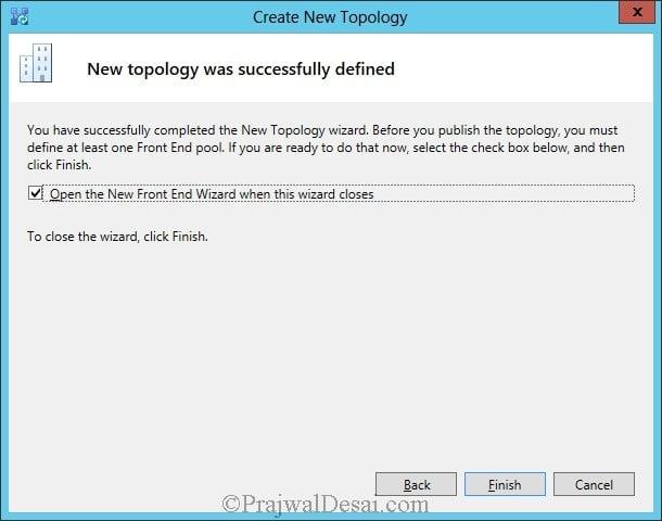 Installation Of Lync Server 2013 Standard Edition Part 3.1 Snap 7
