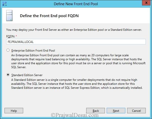 Installation Of Lync Server 2013 Standard Edition Part 3.1 Snap 9