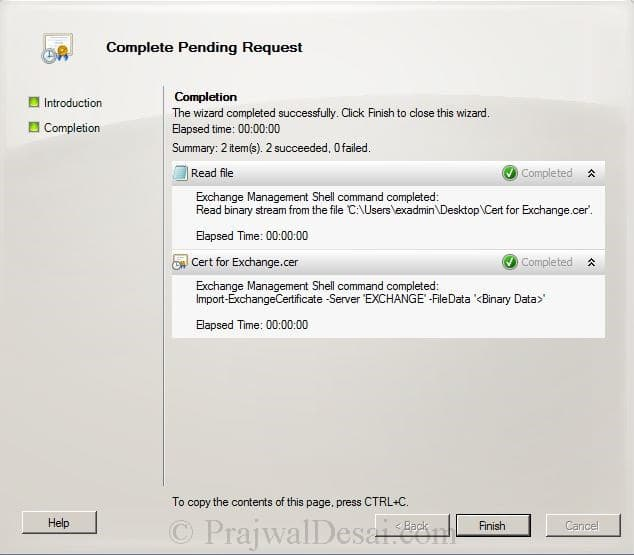 How to Issue a SAN Certificate to Exchange Server Snap 19