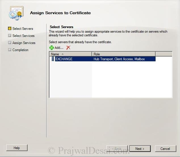How to Issue a SAN Certificate to Exchange Server Snap 21