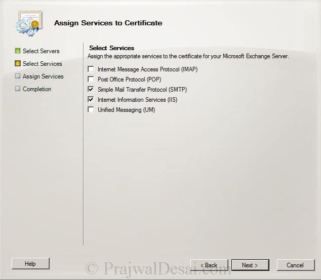 How to Issue a SAN Certificate to Exchange Server Snap 22