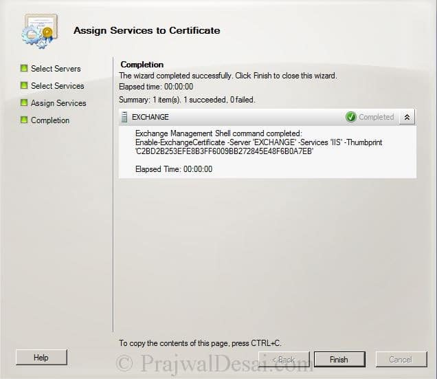 How to Issue a SAN Certificate to Exchange Server Snap 23