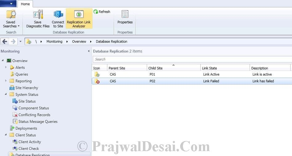 Replication Link Analyzer In Configuration Manager 2012 Snap 11